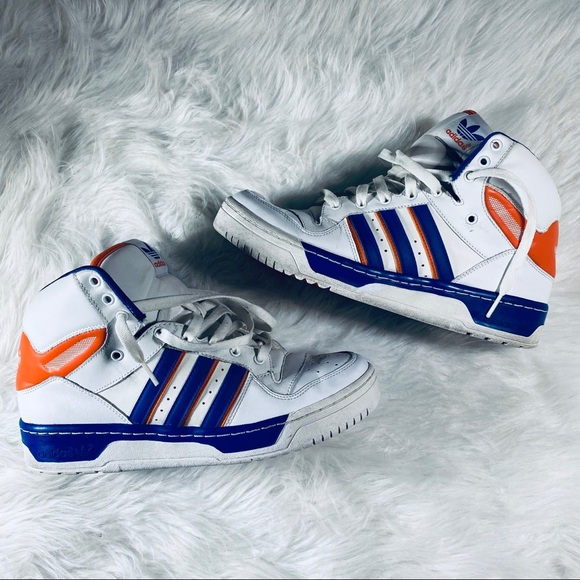 adidas Other - Adidas Vintage High Top Rivalry Hi Sneakers